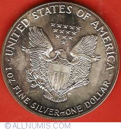 Image #1 of Silver Eagle 1987