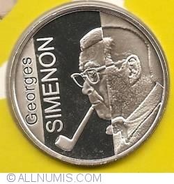 Image #2 of 10 Euro 2003 - Georges Simenon