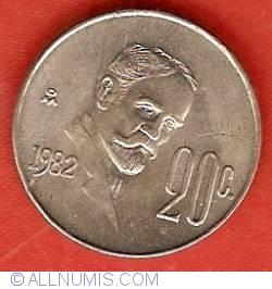 Image #2 of 20 Centavos 1982