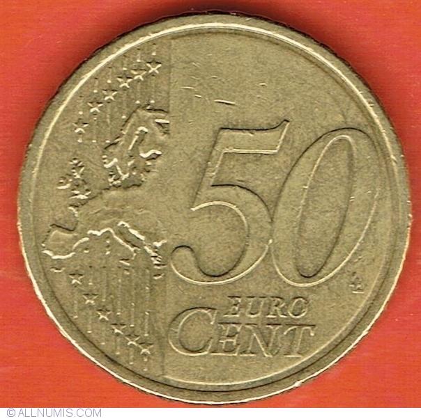 50 Euro Cent 2015 Euro 2002 Present Ireland Coin 41668
