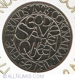 Imaginea #1 a 5 Pounds 2003 - Jubileul de aur al Reginei Elizabeta a II-a