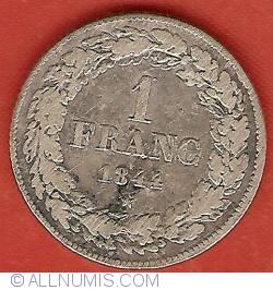 Imaginea #2 a 1 Franc 1844