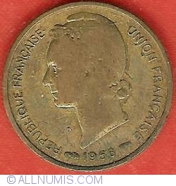 Image #1 of 5 Francs 1956