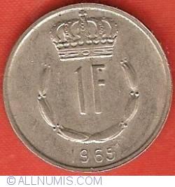 Image #2 of 1 Franc 1965
