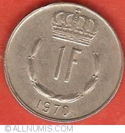Image #2 of 1 Franc 1970
