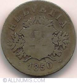 Imaginea #1 a 20 Rappen 1850
