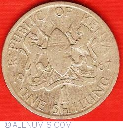 Image #1 of 1 Shilling 1967