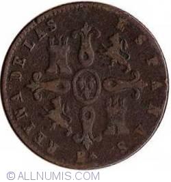 Image #1 of 4 Maravedis 1855 BA