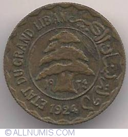 Image #1 of 2 Piastres 1924
