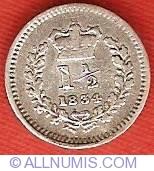 Three Halfpence 1834