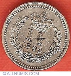 Image #1 of Three Halfpenny 1843