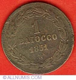 Image #2 of 1 Baiocco 1851 (V)