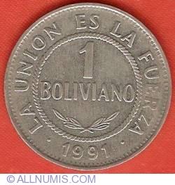 1 Boliviano 1991