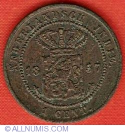 Image #1 of 1 Cent 1857