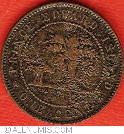 Image #2 of 1 Cent 1871