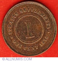 Image #1 of 1 Cent 1875 W