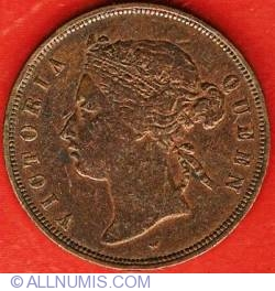 Image #2 of 1 Cent 1875 W