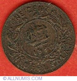 Image #2 of 1 Cent 1880