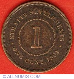Image #1 of 1 Cent 1891