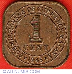 Image #2 of 1 Cent 1945