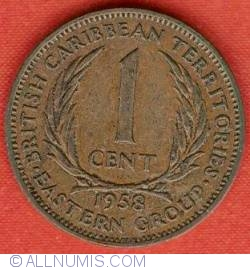 Image #2 of 1 Cent 1958
