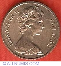 Image #1 of 1 Cent 1982 - FAO