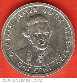 1 Cent 2003 - James Cook
