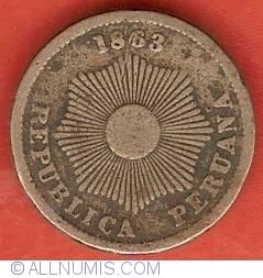 Image #1 of 1 Centavo 1863