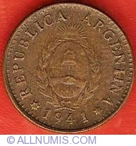 Image #1 of 1 Centavo 1941