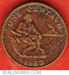 Image #2 of 1 Centavo 1963