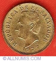 EL SALVADOR 1 CENTAVOS KM135.2 1977 MORAZAN UNC LATINO COINS X 100 PCS LOT MONEY