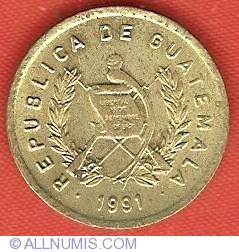 Image #1 of 1 Centavo 1991