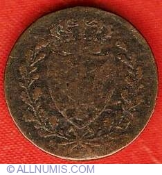 Image #1 of 1 Centesimo 1826 P (eagle head)
