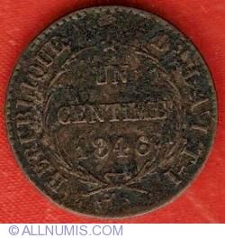 Imaginea #1 a 1 Centime 1846 (AN43)