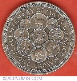 1 Crown 1979 - Tercentenary of Manx Coinage