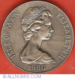 Image #1 of 1 Crown 1980 - 80th Anniversary of Elizabeth the Queen Mother