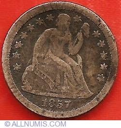 Image #1 of Seated Liberty Dime 1857 O