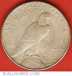 Image #2 of Peace Dollar 1922 S