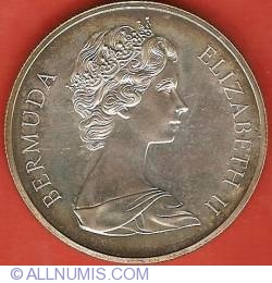 Imaginea #2 a 1 Dollar 1972 - Silver Wedding Anniversary