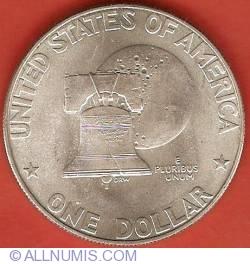 Image #1 of Bicentennial design - Eisenhower Dollar 1976 S