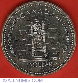 Image #2 of 1 Dollar 1977 - Silver Jubilee