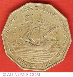 Image #2 of 1 Dollar 1990