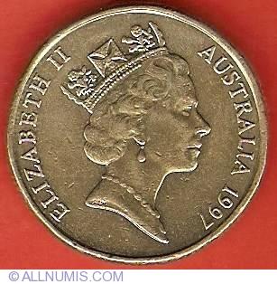 Australia 1997-1 Dollar Aluminum-Bronze Coin #2 Sir Charles Kingsford Smith