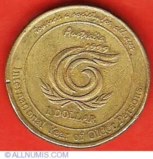1999 AUSTRALIAN 1 DOLLAR  UNC=EX.MINT SET