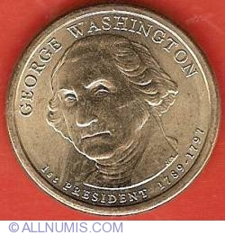Imaginea #1 a 1 Dollar 2007 D - George Washington