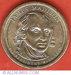 Image #1 of 1 Dollar 2007 D - James Madison