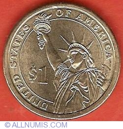 Imaginea #2 a 1 Dollar 2007 D - James Madison