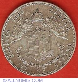 Image #2 of 1 Forint 1869 KB