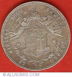 Imaginea #2 a 1 Forint 1869 KB