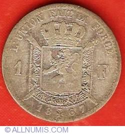 Image #2 of 1 Franc 1867 (French)